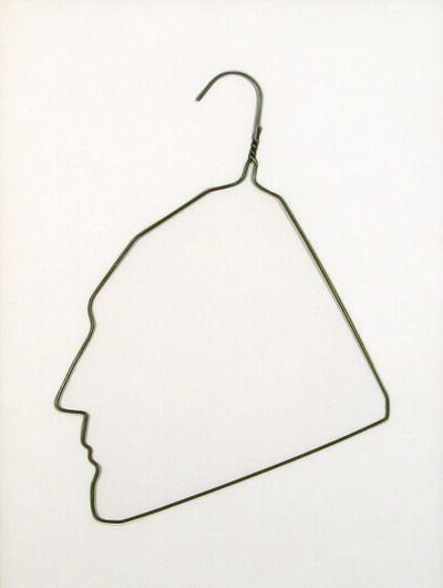 Ai Weiwei, 'Profile of Marcel Duchamp', 1989
