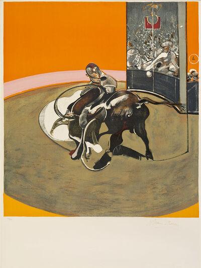 Francis Bacon, 'Study for a Bullfight No.1', 1971
