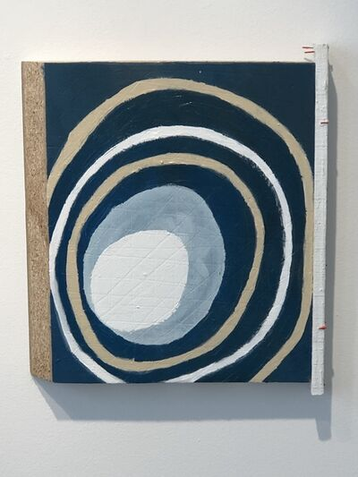 Cordy Ryman, 'Blue Rings', 2004