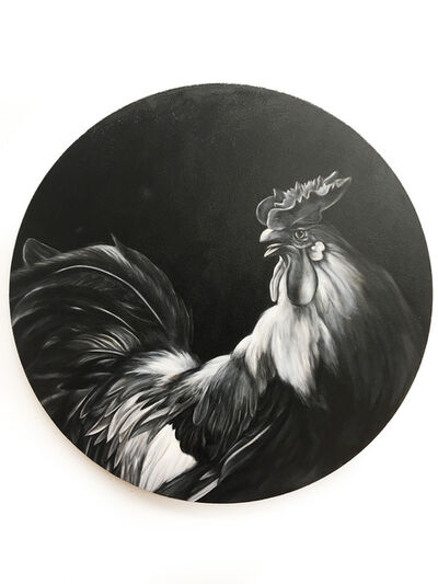 Shelley Reed, 'Rooster (after Hondecoeter)', 2010