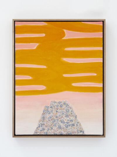 William Monk, 'Untitled II (Yellow Rise)', 2019