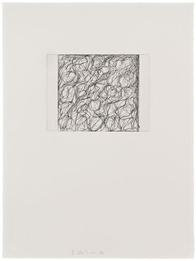 Brice Marden, 'Nevis Letter', 2009