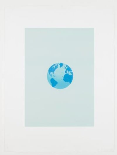 Ed Ruscha, 'The World and Its Surroundings (from The Global Edition series)', 1982