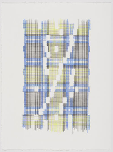 Laura Kaufman, 'Up Energy Scale Two (Plaid)', 2018
