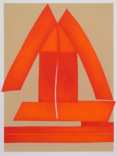 Clinton Adams, 'Triad III', 1980