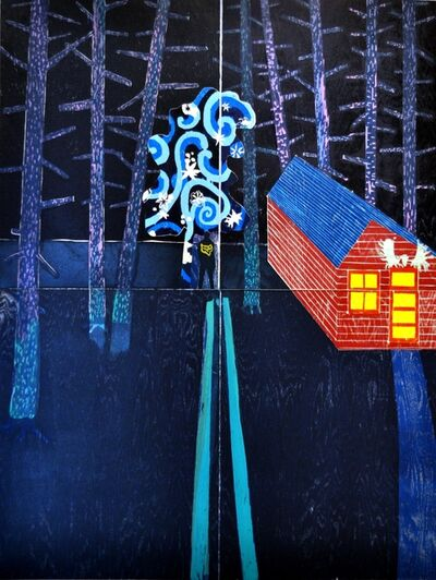 Tom Hammick, 'Night Cabin', 2014
