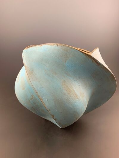 Peter Cunicelli, 'Blue Lower Vase', 2019