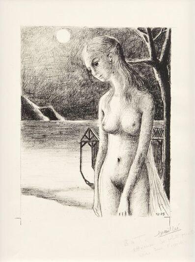 Paul Delvaux, 'Night [Jacob 95]', 1975