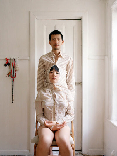 Pixy Yijun Liao, 'Try to live like a pair of Siamese twins 努力生活得像对连体婴儿', 2009