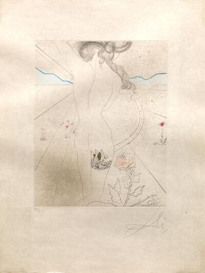 Salvador Dalí, 'Nude with Garter (Le Nu a la Jarretier)', 1969