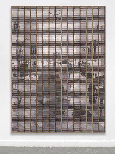 """Gregor Hildebrandt, '""""Blick ins Ess Zimmer vom Flur""""', 2019"""