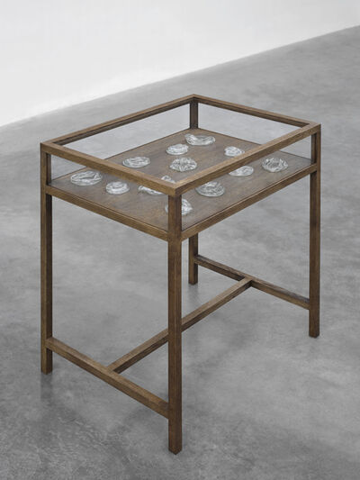 Mona Hatoum, 'Untitled (display case table) II', 2018