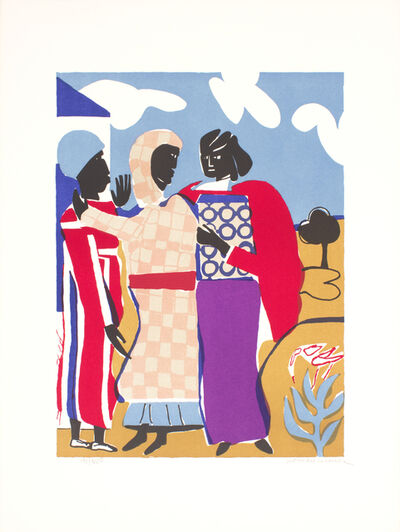 Romare Bearden, 'Three Women (Easter Sunday)', 1979