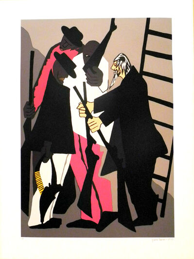 Jacob Lawrence, 'The Legend of John Brown Series No. 6', 1977