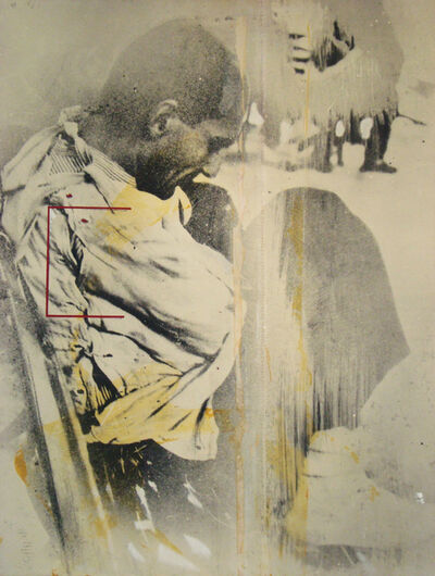 Dario Villalba, 'La espera blanca', 1974