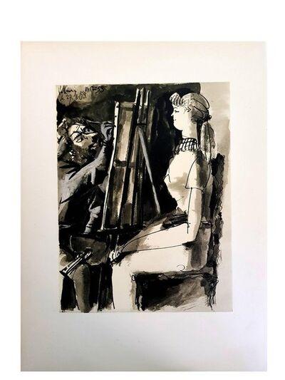 "Pablo Picasso, 'Lithograph ""Human Comedy VI"" after Pablo Picasso', 1954"