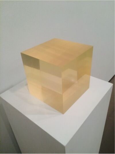 Peter Alexander, 'Untitled (sphere within cube) ', 1965