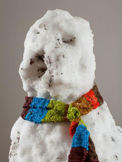 Tony Tasset, 'Snowman', 2013