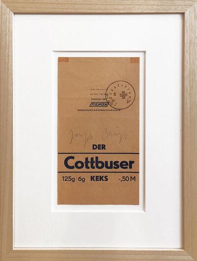 Joseph Beuys, 'Wirtschaftswert Cottbuser Keks', 1981