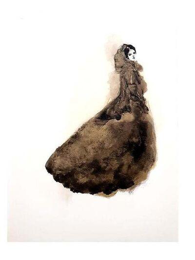 Leonor Fini, 'Leonor Fini - Saturday Night Dress - The Flowers of Evil - Original Lithograph', 1964