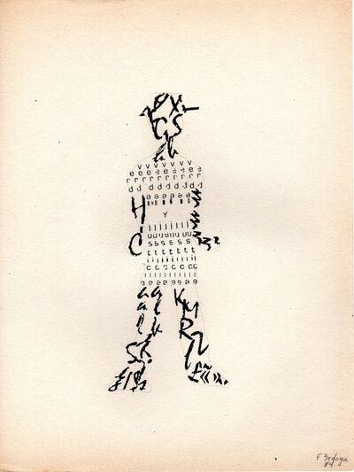 Fernando Coco Bedoya, 'Silueta', 1984