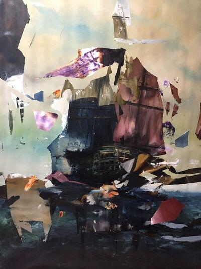 "Florian Eymann, 'Battleship serie ""crazy flag""', 2018"