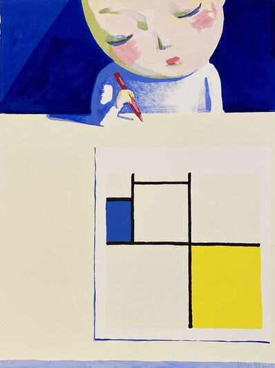 Liu Ye 刘野, 'A Composition for Mondrian', 2001