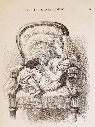 Sir John Tenniel, 'Through the Looking Glass', 1872