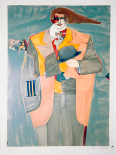Richard Lindner, 'Letter from New York', 1975