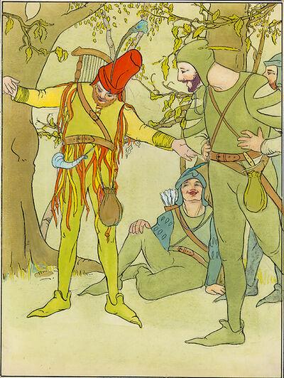 Edna Lawrence, '[Robin Hood's Merry Men]'