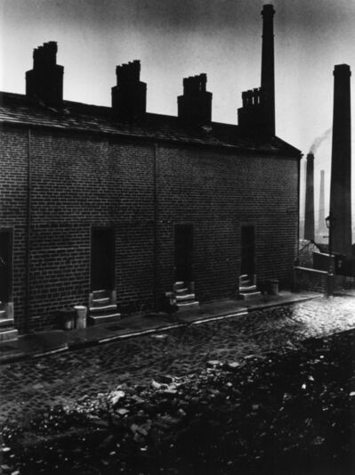 Bill Brandt, 'Coal Miners' Houses without Windows to the Street, Northern England', 1937
