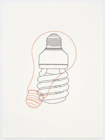 Michael Craig-Martin, 'Light bulb / Light bulb', 2017