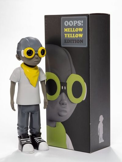 Hebru Brantley, 'Flyboy, Oops! Mellow Yellow Edition', 2016