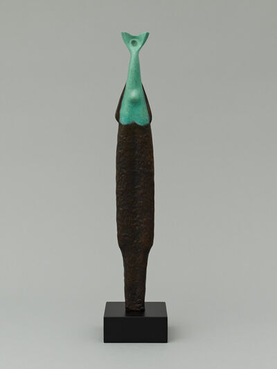 Alexander Archipenko, 'Islander, Green and Black Female, Islander Female', 1958/1964