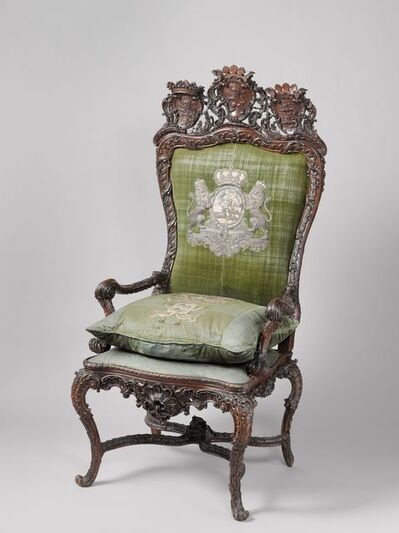 Gerrit Hutte and Pieter van Dijck, 'Stadtholder's chair', 1747