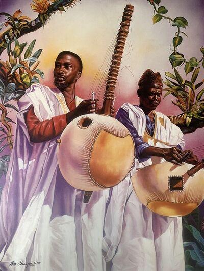 Alix Beaujour, 'Senegal Musicians', 1989