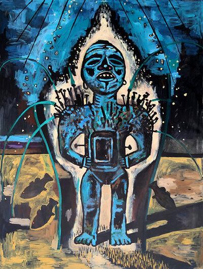 Damien Deroubaix, 'La Source', 2017