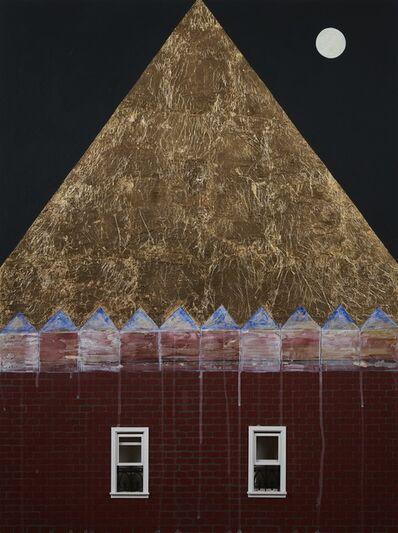 Adia Millett, 'Gold Roof', 2019