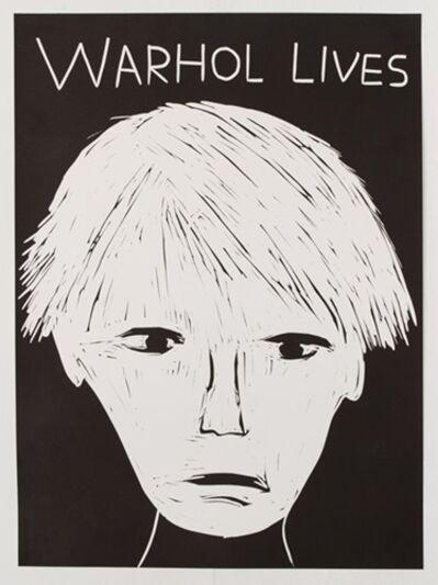 David Shrigley, 'Warhol Lives', 2019