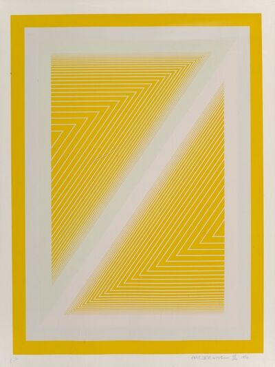 Richard Anuszkiewicz, 'Sequential I, from the Sequential Portfolio', 1972