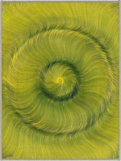 Giacomo Santiago Rogado, 'Coalescence (Black, Primary Cadmium Yellow)', 2019