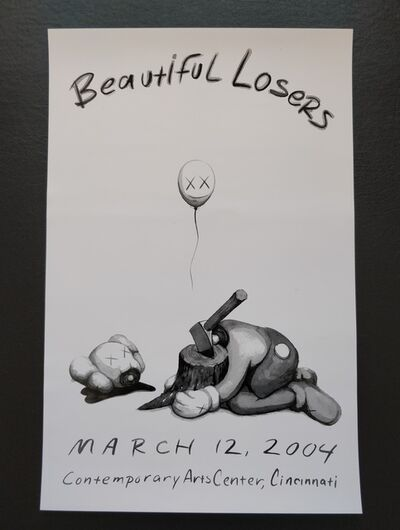 KAWS, 'Beautiful Losers Poster', 2004