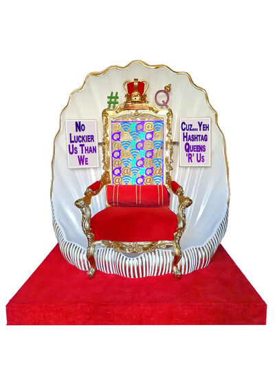 Robodrone, 'Hashtag Queens Throne 3D 50 CM MODEL', 2018