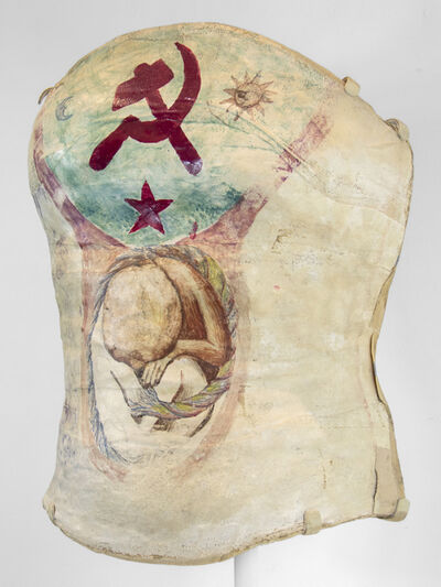 Frida Kahlo, 'Frida's Plaster Corset with Hammer and Sickle (and unborn baby)', ca. 1950