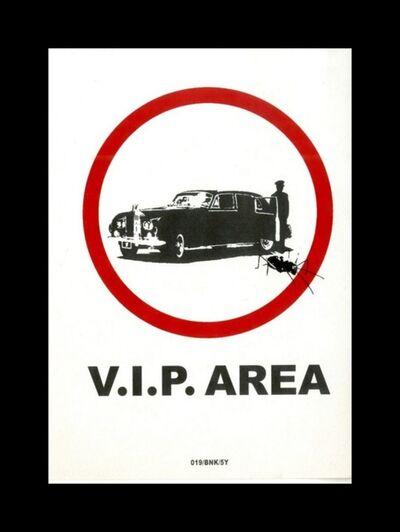 Banksy, 'V.I.P. Area', 2004