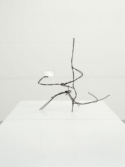 Martin Soto Climent, 'Dibujo en el aire. Pluma blanca', 2018
