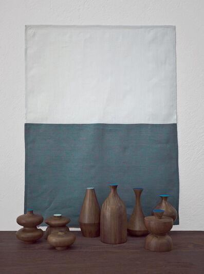 """Edgar Orlaineta, 'With Hidden Nature """"Azul""""', 2018"""