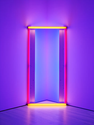 Dan Flavin, 'untitled (to Barnett Newman) two', 1971