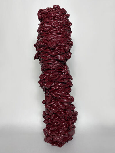 Svetlana Bogatcheva, 'Toteme II (Burgundy)', 2020