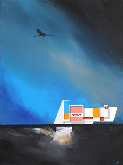 Michael Murphy, 'PSA Desert Layover', 2016